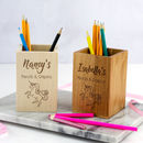 Personalised Unicorn Pencils And Crayons Pot