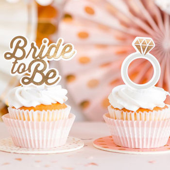 Bride To Be Cupcake Kit