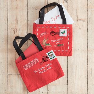 Letter To Santa Gift Bag - winter sale