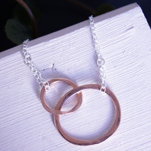 Mum And Me Rose Gold Necklace