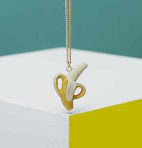 Natural Banana Necklace - necklaces & pendants