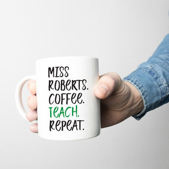 Teacher's Coffee Mug Or Travel Mug Gift