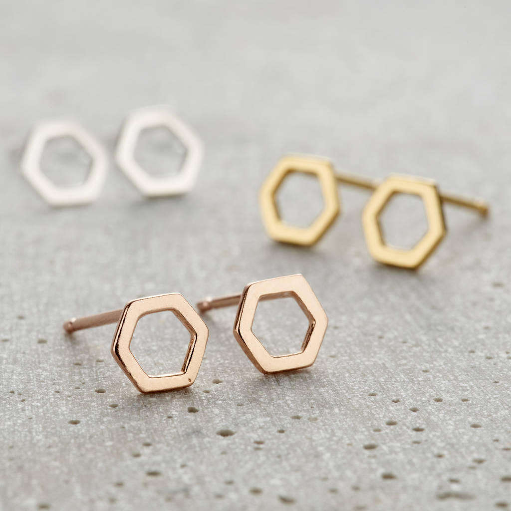 drop geometric com yochi gold earrings dp amazon jewelry plated