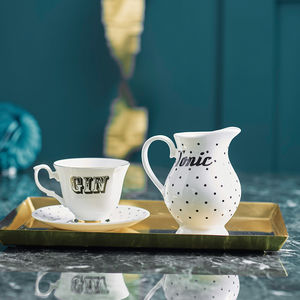 'Gin And Tonic' Tea Set - birthday gifts