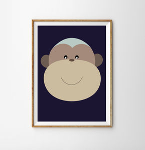 Monkey Children's Print