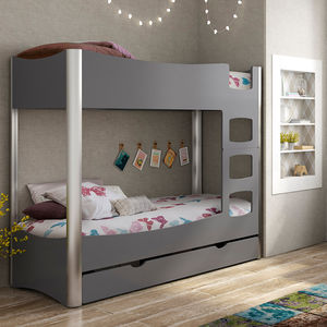 Kids Bunk Bed In Fusion Design - furniture