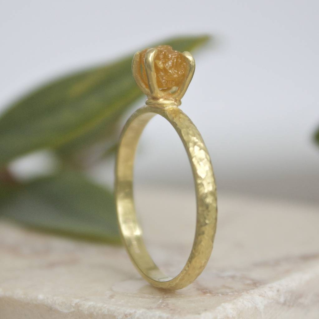 gold listing rings il yellow zoom unfinished rough raw fullxfull ring diamond