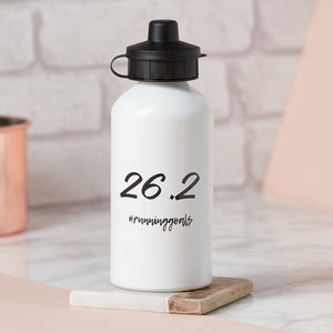 Marathon Distance Water Bottle