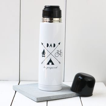 Personalised 'Hobbies' Thermos Flask
