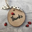 Personalised Thanks Teacher Hanging Decoration