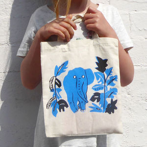 Children's Elephant Tote Bag - bags, purses & wallets