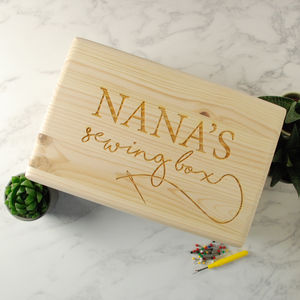 Personalised Sewing Box - sewing boxes