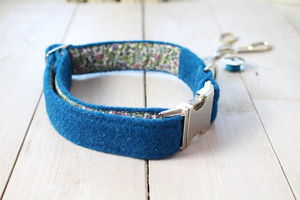 Angus Harris Tweed Dog Collar - dogs