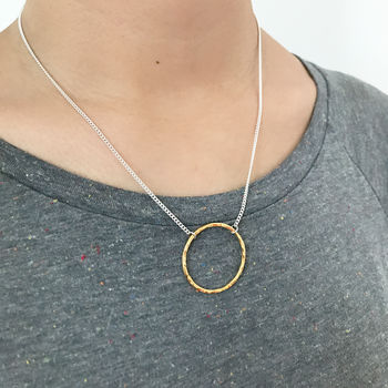 Golden Circle Necklace