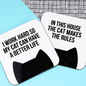 Cat Coaster - new in home