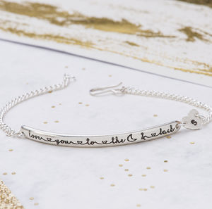 Love You To The Moon And Back Bracelet - bracelets & bangles