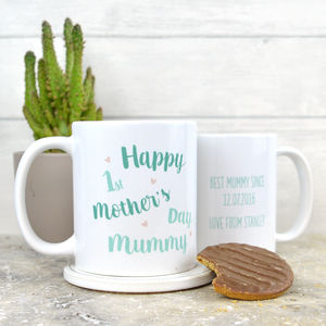 Personalised First Mother's Day Mug For Mummy - kitchen
