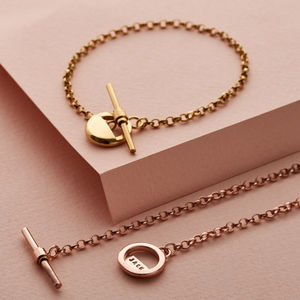 Personalised Albert T Bar Bracelet - gifts for her