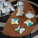 Boxed Set Of Midcentury 'Spiro' Coasters