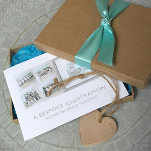 Personalised Illustration Gift Voucher - drawings & illustrations