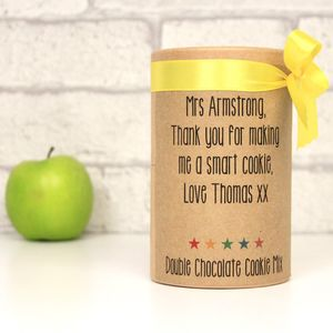 Thank You Teacher Chocolate Cookie Mix - make your own kits