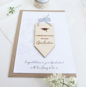 Congratulations On Your Graduation Personalised Card
