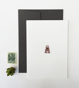 Rose Gold Gift Greetngs Card - cards