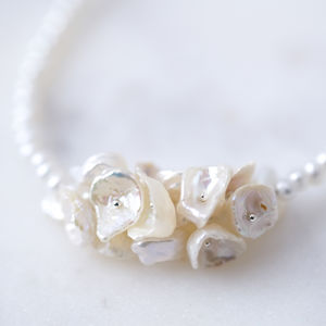 Freshwater Pearl Bridal Necklace - necklaces & pendants