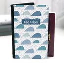 Whales Personalised Passport Case