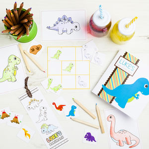 Personalised Dinosaur Activity Bundle