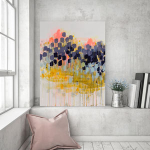 Love From Above, Canvas Art - modern & abstract