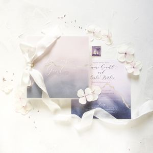 Belle Invitation - wedding stationery