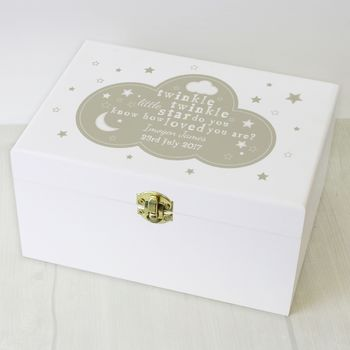 Personalised Children's Keepsafe Box Gift