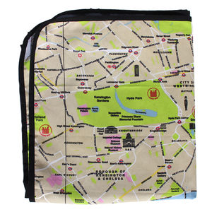 London Map Picnic Rug - picnics & barbecues