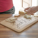Personalised Script Name Cheese Board
