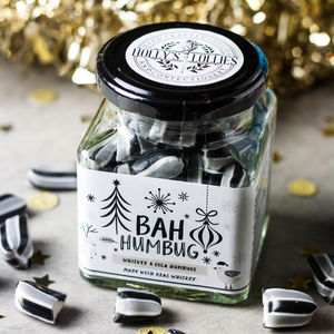 Whiskey Cola Alcoholic Bah Humbugs Sweets - chocolates & confectionery