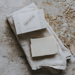 Unscented Soap - natural materials