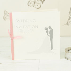 Bride And Groom Wedding Invitation