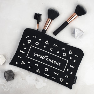 Sweet Cheeks Make Up Bag