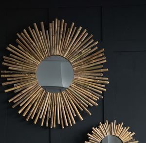 Bamboo Sunburst Mirror