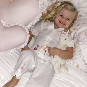 Girl's Personalised Gingerbread Cotton Pj's