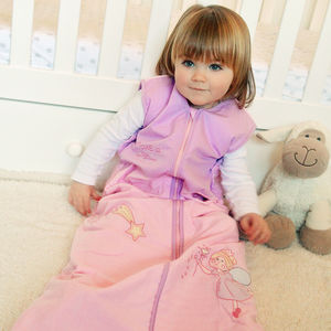 Winter Sleeping Bag With Sleeves Pink Fairy
