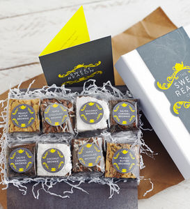 Luxury Gluten Free Brownie Box - gluten free food gifts