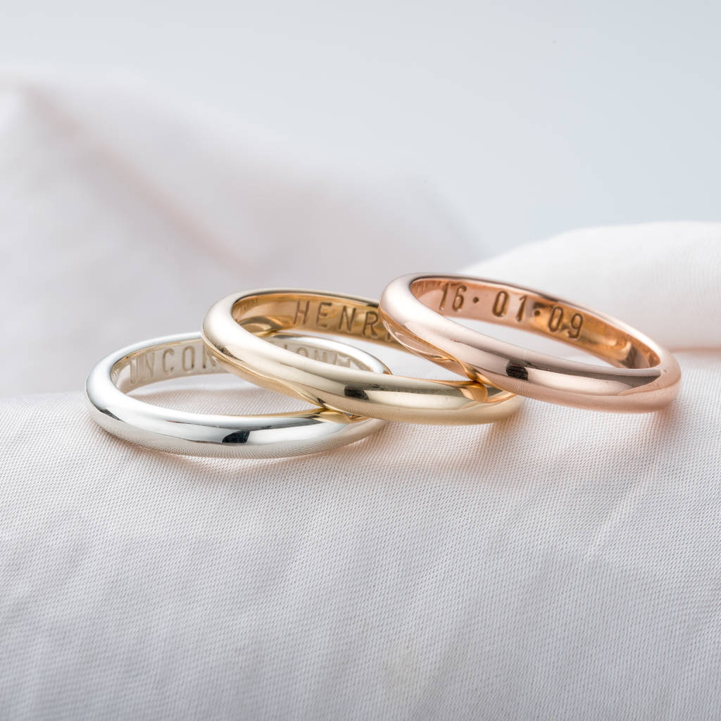 collections rings script ring withloved name