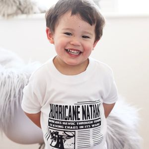 Personalised Name Hurricane T Shirt - new in baby & child