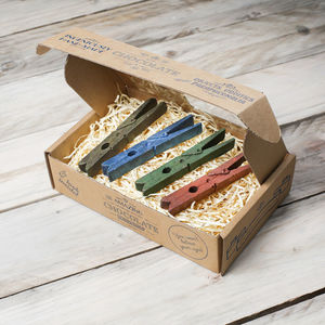 Chocolate Pegs Gift Box
