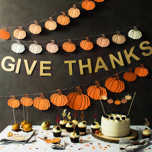 Thanksgiving Party Decoration Kit
