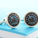 Personalised Sportscar Speedometer Cufflinks