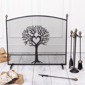 Woodland Tree Country Fireguard - bedroom