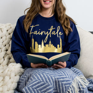 Fairytale Over New York Christmas Jumper - christmas jumpers